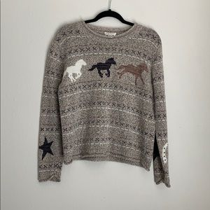 CHRISTOPHER & BANKS | horse sweater